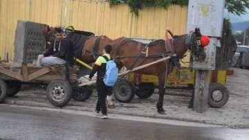 Забрана за движение на каруци в Сливен