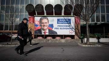 Президентски избори се провеждат в Словакия