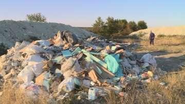 Нерегламентирано сметище край кюстендилското село Стоб