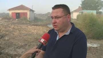 Кметът на Свищов за пожара на сметището: Имаме сведения за умишлен палеж