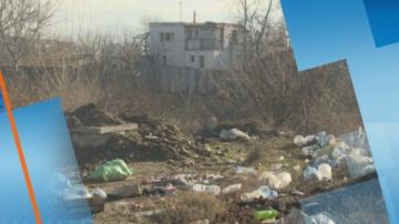 Незаконно сметище замърсява река Бистрица