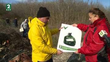 Община Девня и БНТ-Варна почистиха 4 сметища за ден