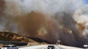 Българка в Калифорния за огнения ад в щата