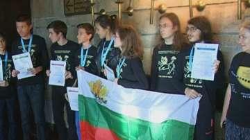 Златен медал на олимпиада по астрономия в Смолян