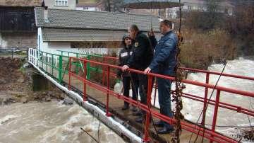 Смолян очаква да отмени бедственото положение, пътят Смилян - Рудозем е затворен