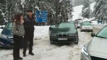 Бедствено положение в област Смолян заради натрупалия сняг