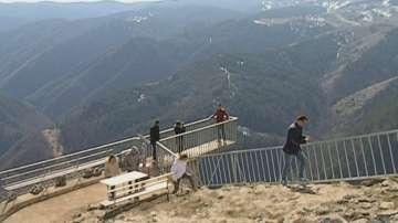 Панорамната площадка Орлово око край Ягодина - хит за туристите