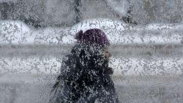 Обилен снеговалеж в Румъния