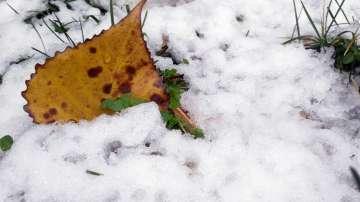 Сняг падна на прохода Шипка, движението е без ограничения