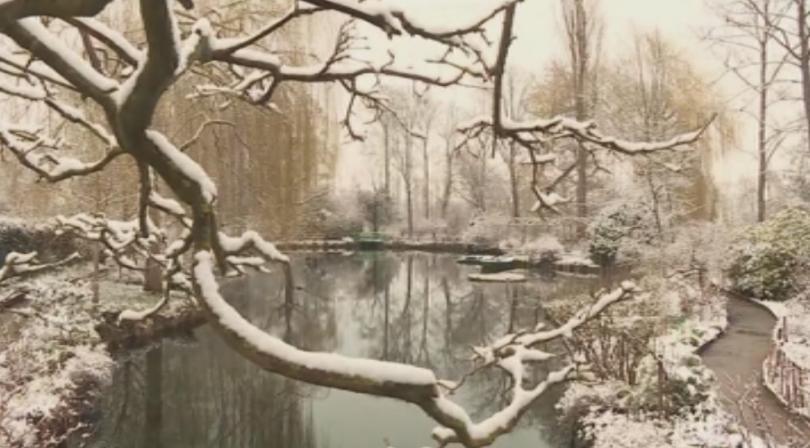 Сняг падна в Северна Франция. Оранжев код е обявен в