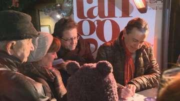 Веско Ешкенази и Людмил Ангелов раздаваха автографи в помощ на Хитрино