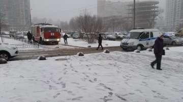 Взрив пред библиотека в Санкт Петербург, има един ранен