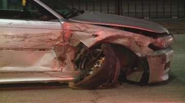 Дрогиран шофьор потроши 6 автомобила в Пловдив