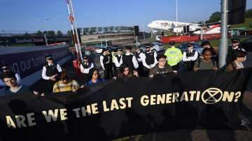 Протести срещу климатичните промени в Западна Европа