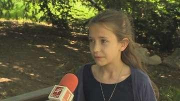 10-годишно момиче с амбициозен първи разказ