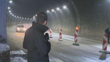 Шофьори не спазват забраната и преминават през тунела Ечемишка