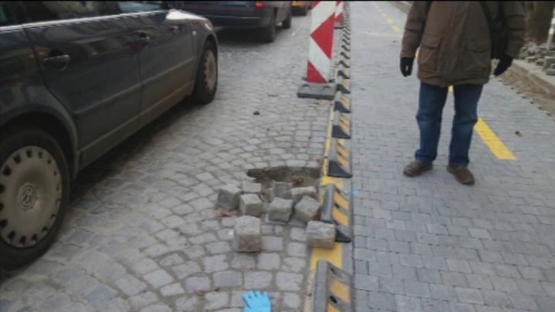 Вандалски прояви в София ден преди протеста срещу Йорданка Фандъкова