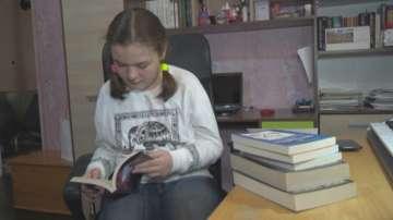 Ели Тъкет е третото дете с награда в кампанията на БНТ Прозорец към родината