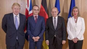 Франция, Великобритания и Германия искат ядреното споразумение с Иран да остане