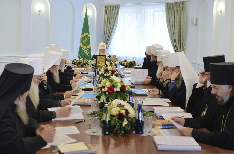 Синодът на Руската православна църква прецени като невъзможно по-нататъшното евхаристичсно