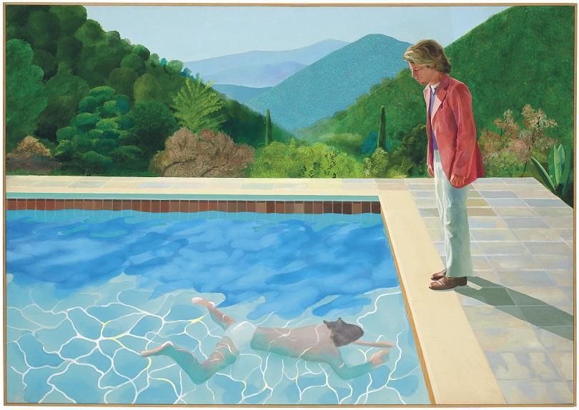 Картина на британския художник Дейвид Хокни беше продадена на търг