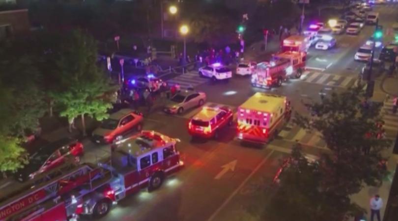Шестима души са ранени при стрелба в американската столица Вашингтон.Според
