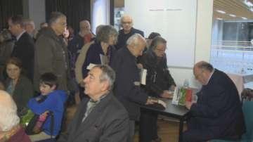 Александър Йорданов представи новата си книга Патриотични уроци