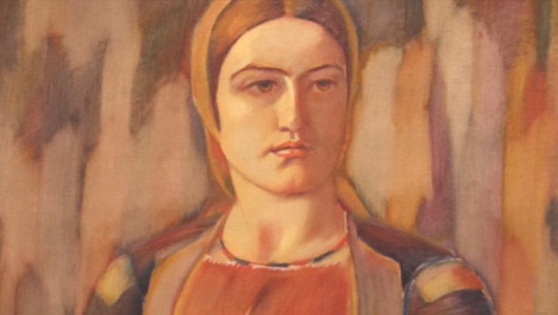 Снимка: Непоказвана картина на Майстора изложиха за първи път в галерията в Кюстендил