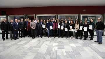 Мария Габриел връчи стипендиите на фондация Еврика на 46 младежи