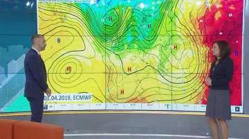 Април ще започне с повишение на температурите, но и по-чести валежи