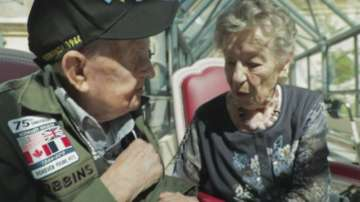 Влюбени американец и французойка се срещнаха за първи път след 75 години