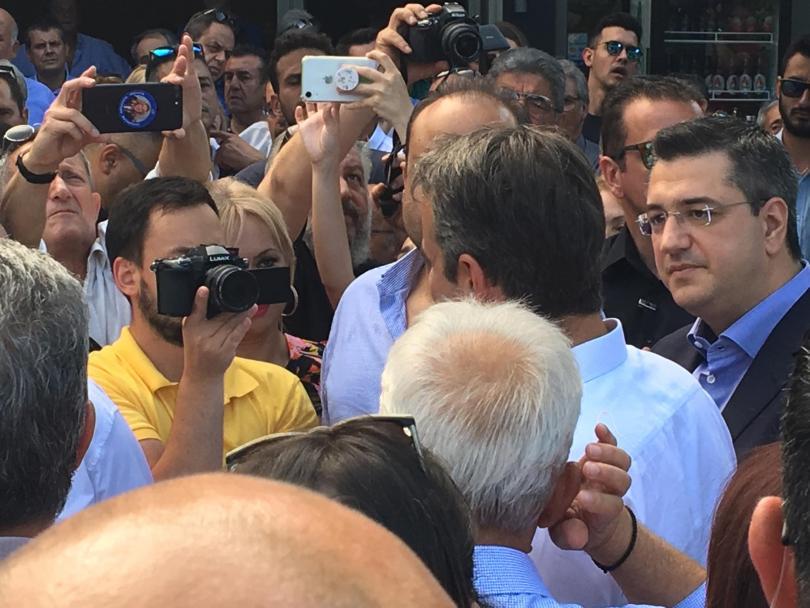 снимка 1 Ексклузивно пред БНТ: Кириакос Мицотакис за договора със Северна Македония