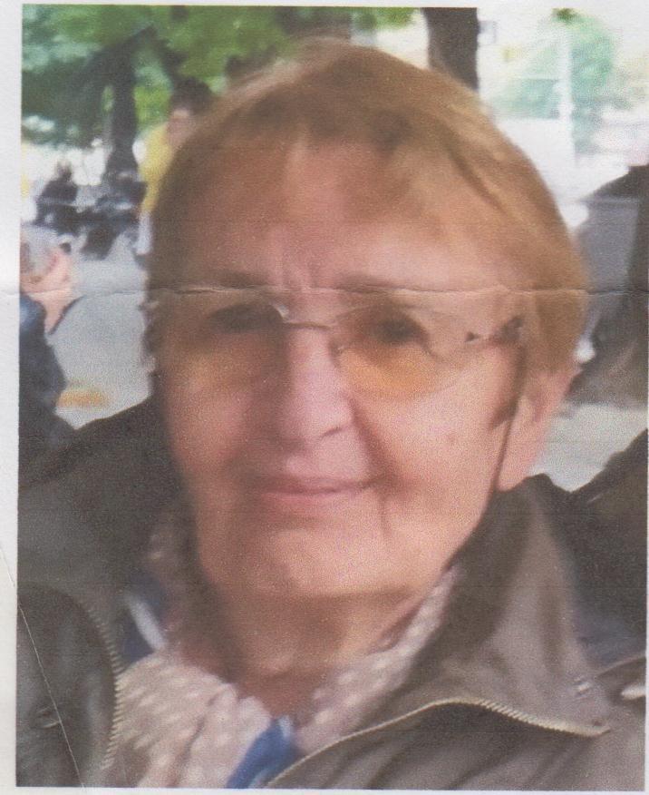 СДВР издирва Румяна Евденова Коцалиева от София. 74-годишната жена е
