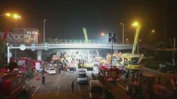 Трима души загинаха при рухването на мост в Китай