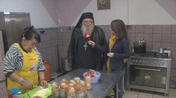 Приютът на отец Иван има нужда от храна и пари преди зимата