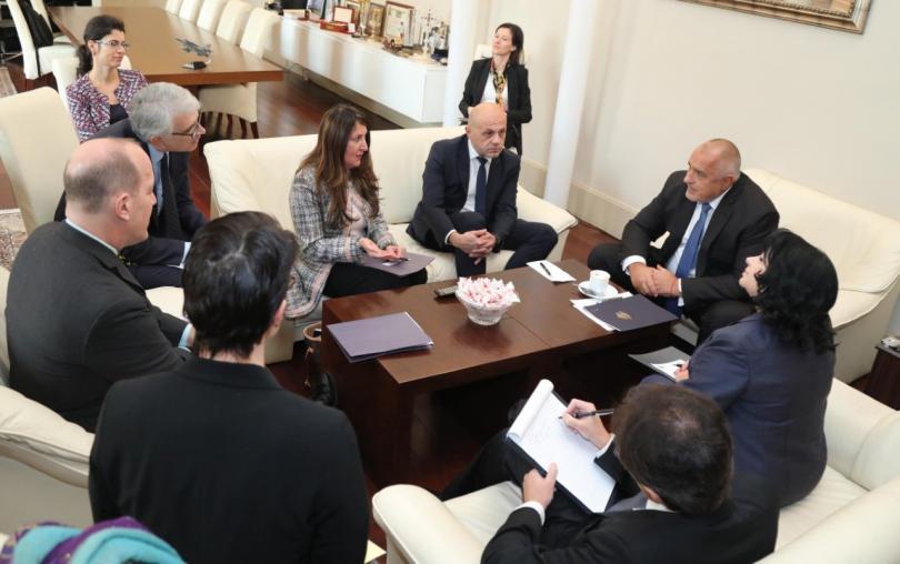 Премиерът Бойко Борисов се срещна с помощник държавния секретар в
