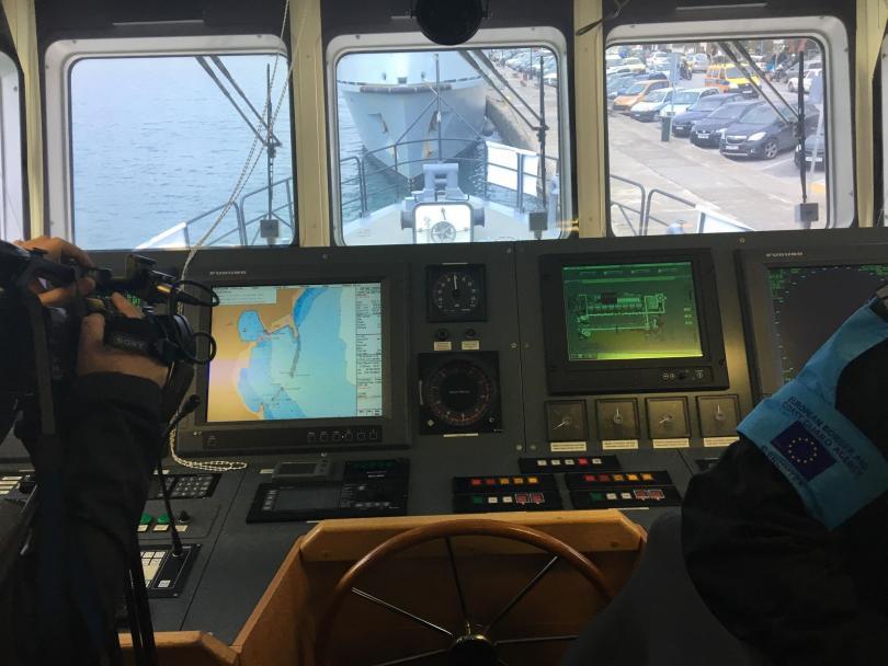снимка 1 България в помощ на Фронтекс в Средиземно море