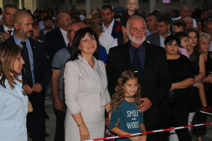 Председателят на Народното събрание Цвета Караянчева се включи в отбелязването