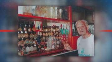 91-годишният Танчо Тенев е световна сензация в скоковете във вода
