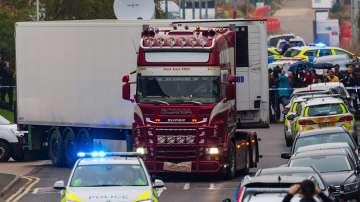 Китайци са жертвите от камиона в Есекс