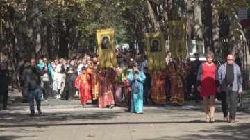 Молебен и литийно шествие в подкрепа и защита на българското семейство в Бургас