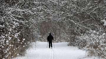 Мразовитата зима в северните части на Съединените щати и Канада продължава