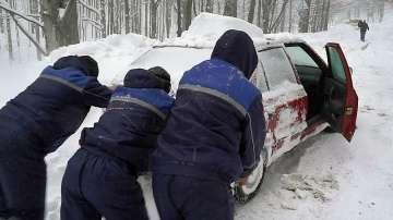 След снега - предупреждение за студ и вятър