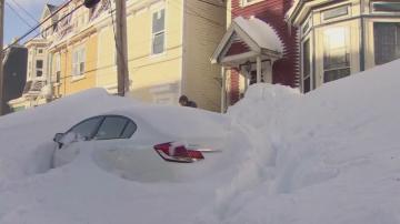 76 сантиметра сняг натрупа в канадската провинция Нюфаундленд