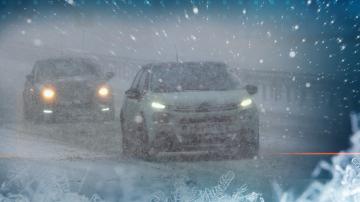 Заради снега: Коли останаха блокирани на АМ Хемус в посока София
