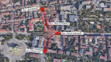 Промени в движението в София заради церемонията пред паметника Левски