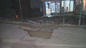 Авария наводни приземни етажи в столичния квартал Младост 1