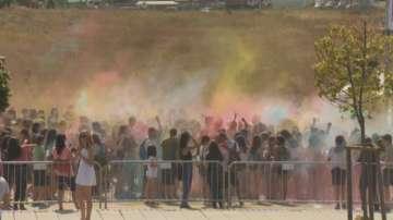 Фестивал на цветовете в София