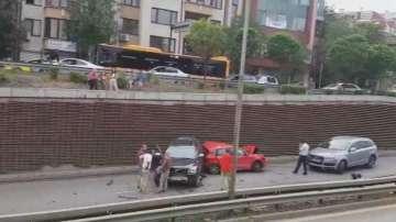 Задържаха за 24 часа шофьора, причинил верижната катастрофа вчера в София
