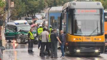 Четирима полски офицери от Фронтекс пострадаха при катастрофа в София